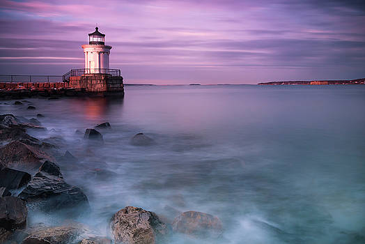 Ranjay Mitra - Maine Bug Light Lighthouse Sunset