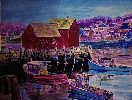 Yvonne Breen - MAINE HARBOR