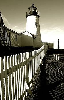 Maine Lighthouse by Natalia Radziejewska