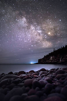 Maine Milkyway by Chad Tracy