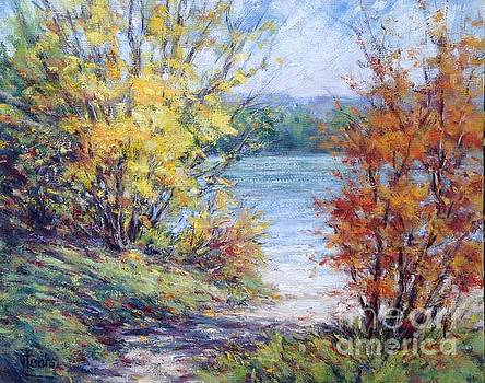 Maine October by Vickie Fears
