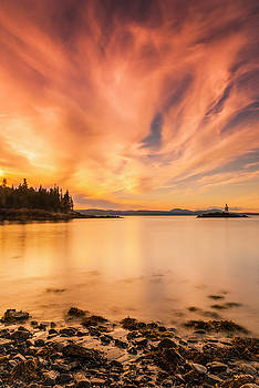 Ranjay Mitra - Maine Penobscot Bay Sunset