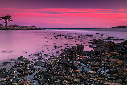 Ranjay Mitra - Maine Rocky Coastal Sunset in Portland