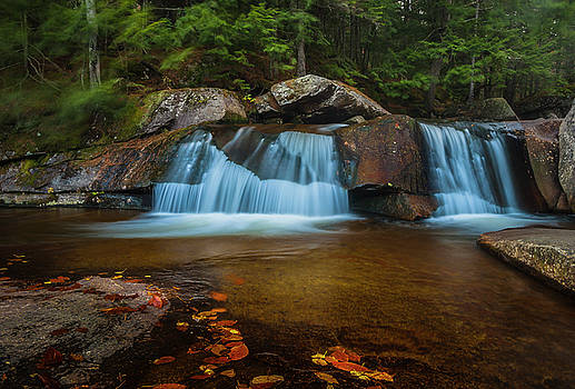 Ranjay Mitra - Maine Screw Auger Falls in Grafton Notch
