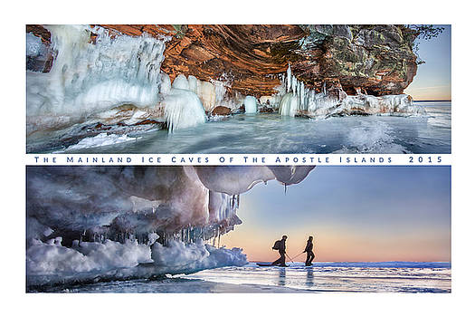 Mainlad Ice Caves of the Apotle Islands by Mark Rainer
