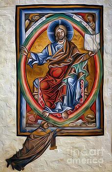 Majestas Domini from BL Arundel 156 Interprted by Pablo Avanzini