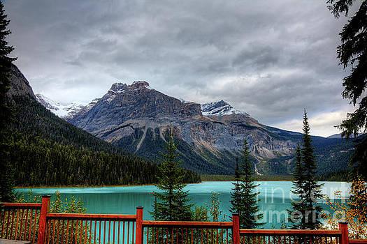 Wayne Moran - Majestic Beauty Emerald Lake Yoho National Park British Columbia Canada