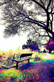 Majestic Bench by Lisa Wolfin