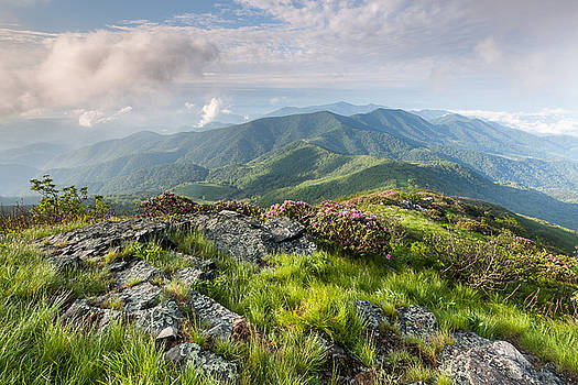 Majestic Blue Ridge Mountains by Mark VanDyke