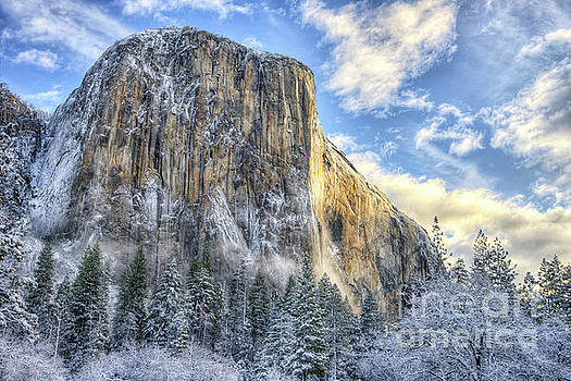 Wayne Moran - Majestic El Capitan Winter Sunrise Yosemite National Park