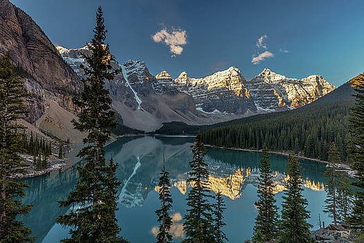 Majestic Moraine Lake by Pierre Leclerc Photography