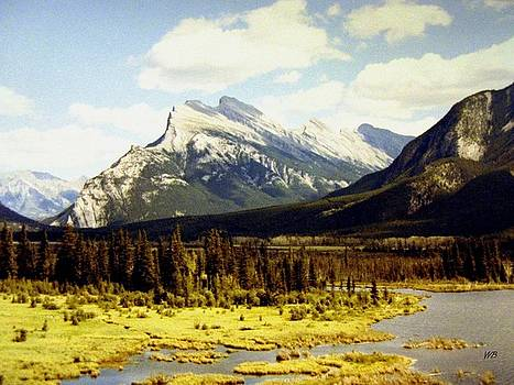 Majestic Mount Rundle by Will Borden