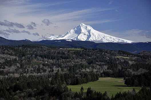 Majestic Mt Hood by Jim Walls PhotoArtist