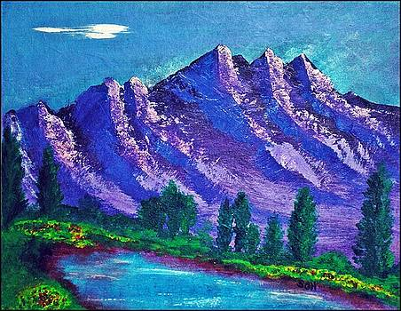 Majestic Mystic Mountains Number Three by Scott Haley