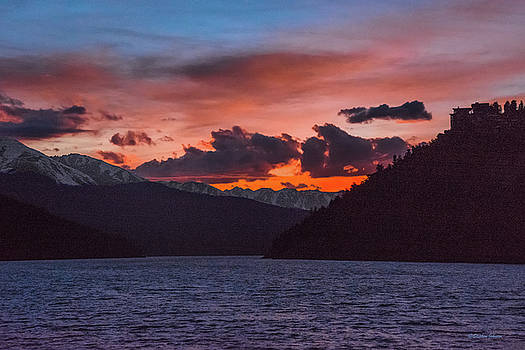 Majestic Sunset in Summit Cove by Stephen Johnson
