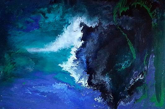 Abstract art   Majesty  by Amy LeVine