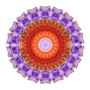 Sharon Cummings - Majesty Mandala Art by Sharon Cummings