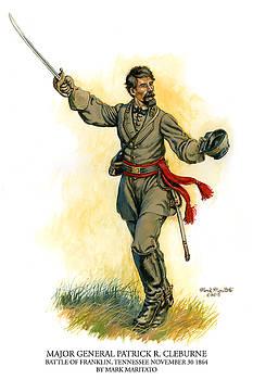 Major General Patrick R. Cleburne by Mark Maritato