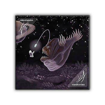 Major Tom and the Outer Space Angler Fish by Annie Dunn