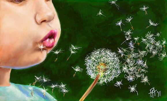 Make A Wish by Peggy Hickey