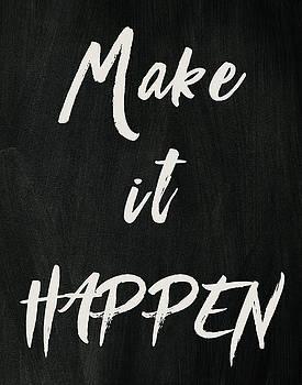 Make it happen by Marilu Windvand