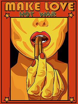 Make Love Not War by Larry Butterworth