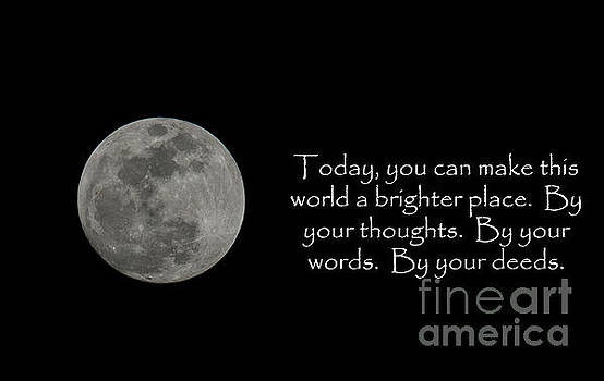 Make this World a Brighter Place by Dale Powell