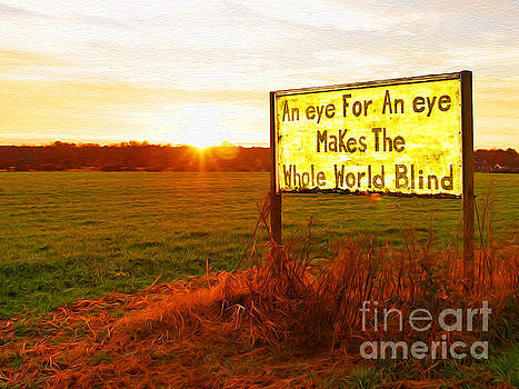Makes The World Blind by Joseph Re