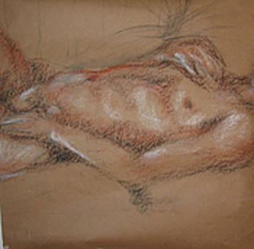 Makis sleeping by Megan Welcher