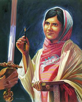 Malala Yousafzai by Steve Simon