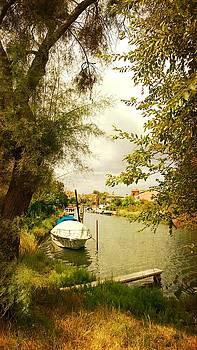 Malamocco Canal No1 by Anne Kotan