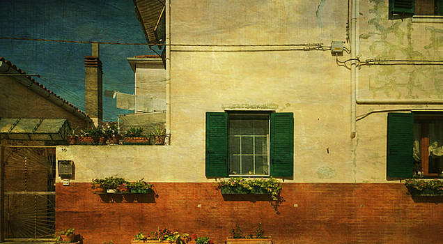 Malamocco Facade No1 by Anne Kotan