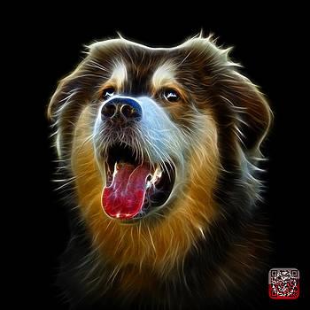 Malamute Dog Art - 6536 - BB by James Ahn
