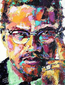 Malcolm X by Derek Russell