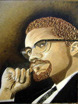 Malcolm X by Keenya  Woods
