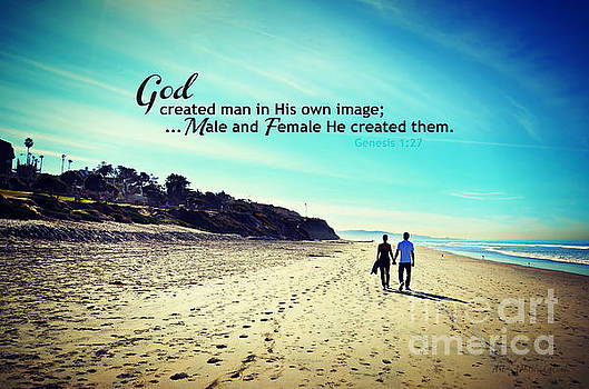 Male and Female He created them by Sharon Tate Soberon