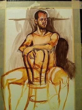 Male Figure 2 In Half Hour by Aaron Druliner