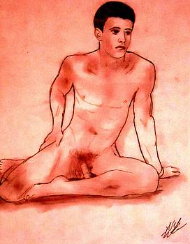 Male Nude by Nick Mantlo-Coots