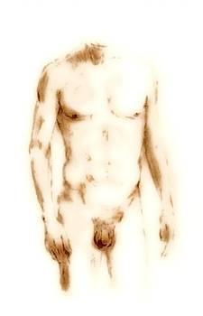 G Linsenmayer - Male Nude Torso I