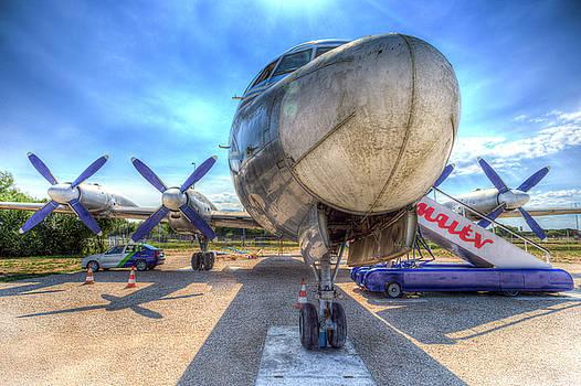 Malev Hungarian Airlines Ilyushin IL-18 by David Pyatt