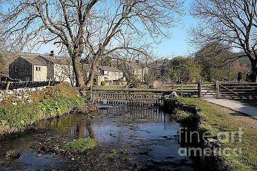 Malham Beck flowing through Malham village by Gavin Dronfield