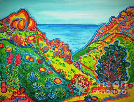 Malibu Canyon View by Rachel Houseman