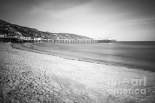 Paul Velgos - Malibu Pier at Surfrider Beach Black and White Picture