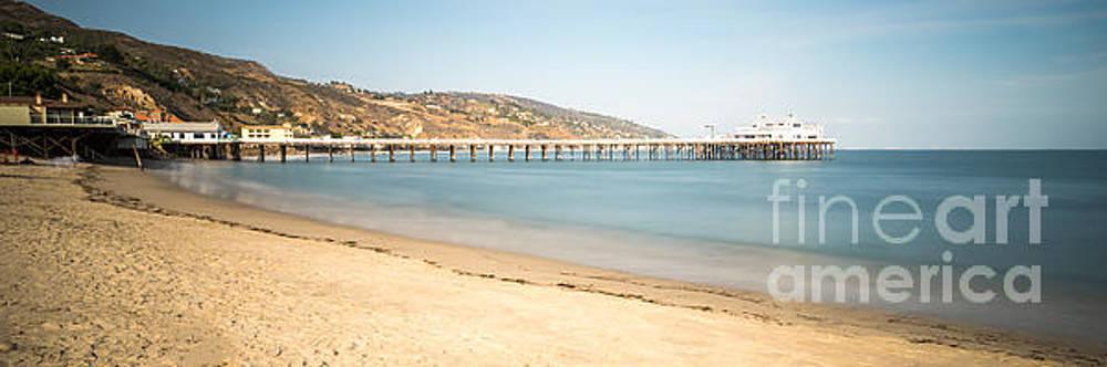 Paul Velgos - Malibu Pier Surfrider Beach Panorama Photo