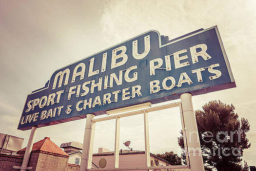 Paul Velgos - Malibu Sign Sport Fishing Pier Picture