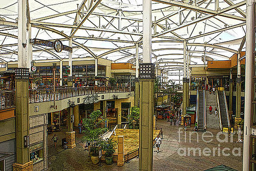 Mall In Hawaii by Ronald Williamson