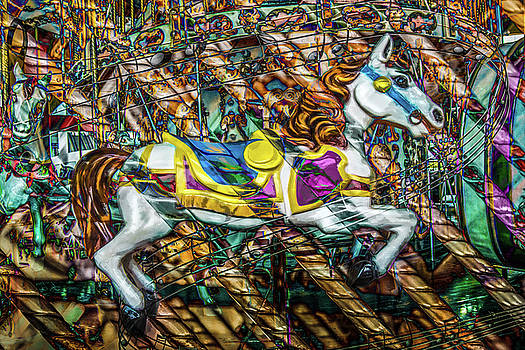 Mall Of Asia Carousel Horse by Michael Arend
