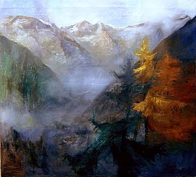 Mallnitz  Austria by Elisabeth Nussy Denzler von Botha