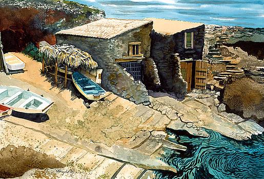 Mallorcan Coast by Douglas Teller