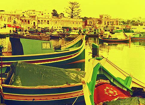 Elizabeth Hoskinson - Maltese Fishing Village